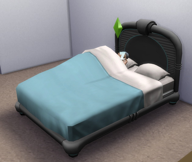 Sims 4 3 to 4 Hover Bed by BigUglyHag at TSR