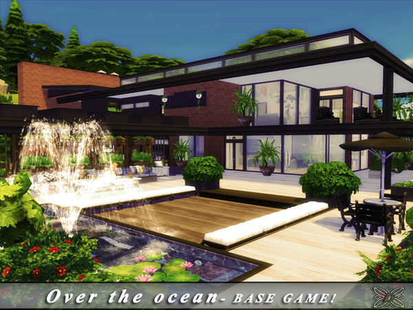 Over the ocean house by Danuta720 at TSR image 5218 Sims 4 Updates