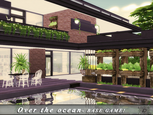 Over the ocean house by Danuta720 at TSR image 5317 Sims 4 Updates