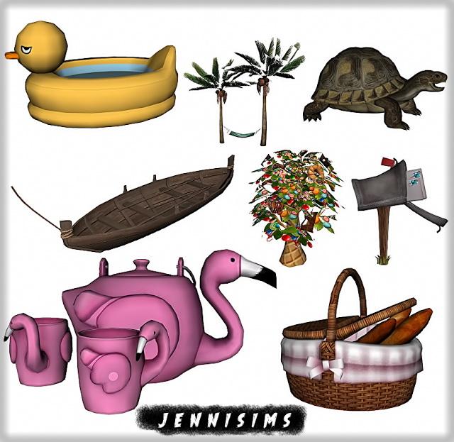 Set Vol 55 Decoratives (8 Items) at Jenni Sims image 539 Sims 4 Updates