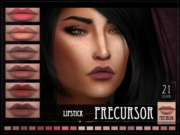 Precursor lipstick by RemusSirion at TSR image 540 Sims 4 Updates