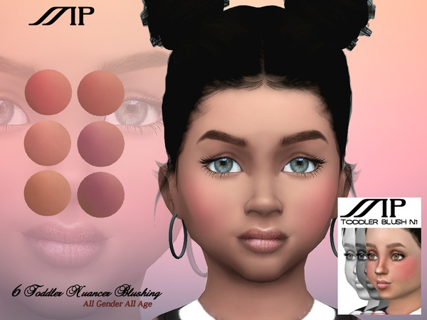 MP Toddler Nuancer Blushing N1 by MartyP at TSR image 543 Sims 4 Updates