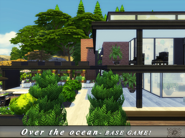 Over the ocean house by Danuta720 at TSR image 5516 Sims 4 Updates