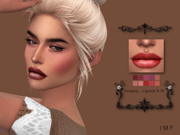 IMF Sorbetty Lipstick N.79 by IzzieMcFire at TSR image 5717 Sims 4 Updates
