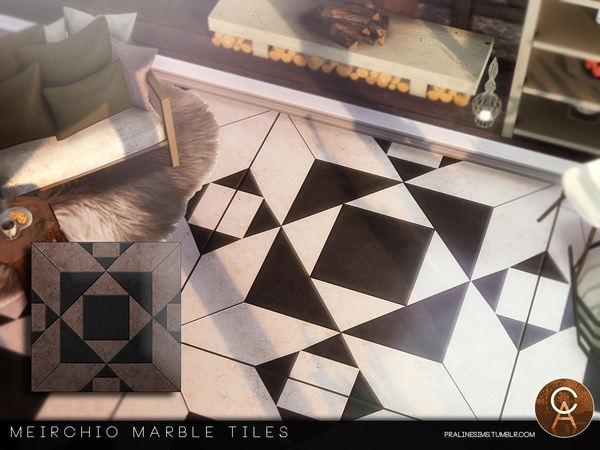 Meirchio Tiles by Pralinesims at TSR image 585 Sims 4 Updates