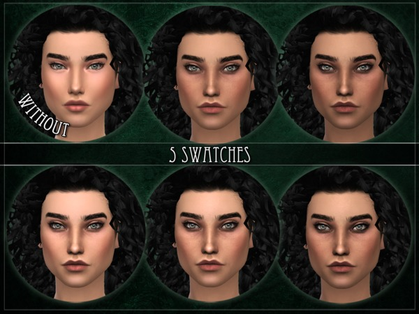 Sims 4 R skin 5 FEMALE OVERLAY by RemusSirion at TSR