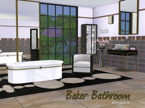 Bathroom Baker by ShinoKCR at TSR image 612 Sims 4 Updates