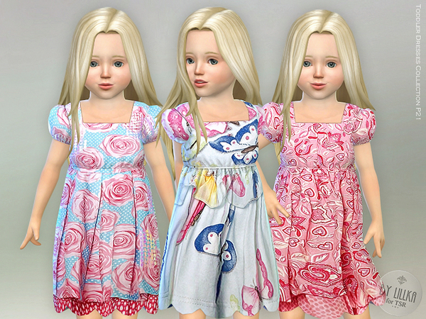 Sims 4 Toddler Dresses Collection P21 by lillka at TSR