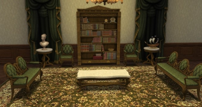 Victorian Set From Ts3 By Thejim07 At Mod The Sims 187 Sims