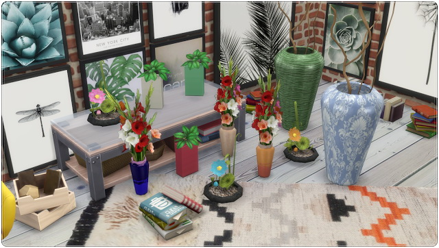 Flower & Vases TS3 to TS4 Conversion at Annett's Sims 4 Welt image 659 Sims 4 Updates