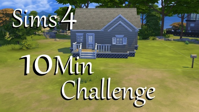 Sims 4 10 Min Challenge house by PolarBearSims at Mod The Sims