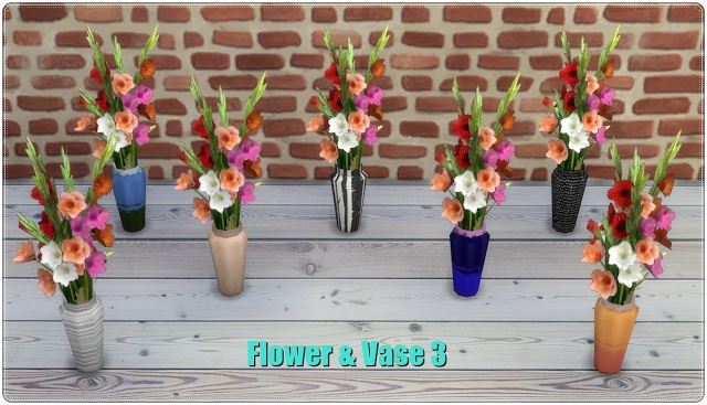 Flower & Vases TS3 to TS4 Conversion at Annett's Sims 4 Welt image 669 Sims 4 Updates