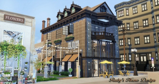 Waterside Street by Ruby Red at Ruby's Home Design image 6819 670x355 Sims 4 Updates