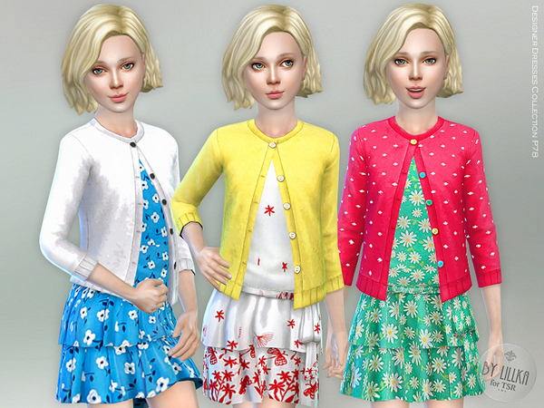 Designer Dresses Collection P78 by lillka at TSR image 688 Sims 4 Updates