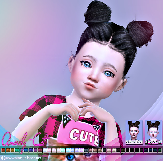 LeahLillith Katya Hair at Anarchy Cat image 6911 Sims 4 Updates