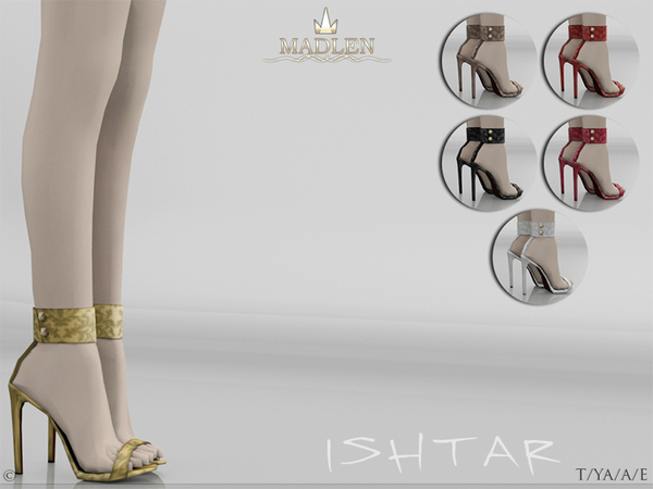 Sims 4 Madlen Ishtar Shoes by MJ95 at TSR