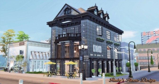 Waterside Street by Ruby Red at Ruby's Home Design image 6919 670x355 Sims 4 Updates