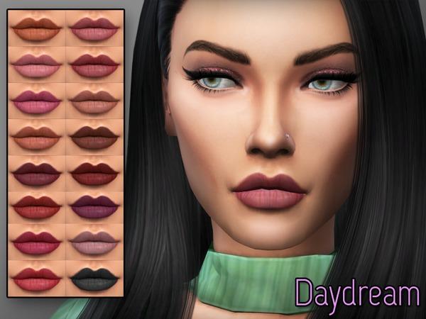 Sims 4 KM Daydream Matte Lipstick by Kitty.Meow at TSR