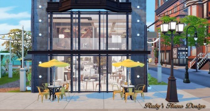 Waterside Street by Ruby Red at Ruby's Home Design image 7018 670x355 Sims 4 Updates