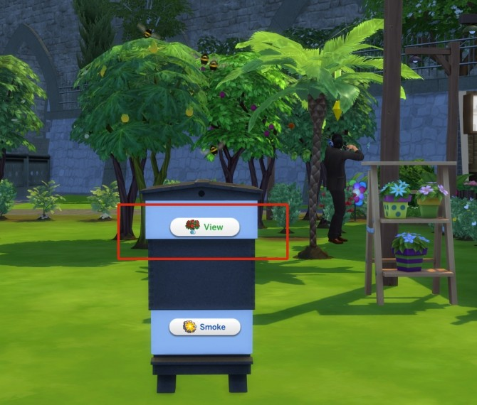 Functional Beekeeper Box by icemunmun at Mod The Sims image 709 670x570 Sims 4 Updates