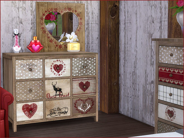 Heidi Bedroom by Pilar at TSR image 710 Sims 4 Updates