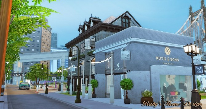 Waterside Street by Ruby Red at Ruby's Home Design image 7122 670x355 Sims 4 Updates