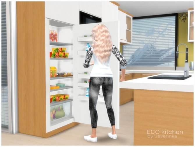 ECO kitchen at Sims by Severinka image 718 670x505 Sims 4 Updates