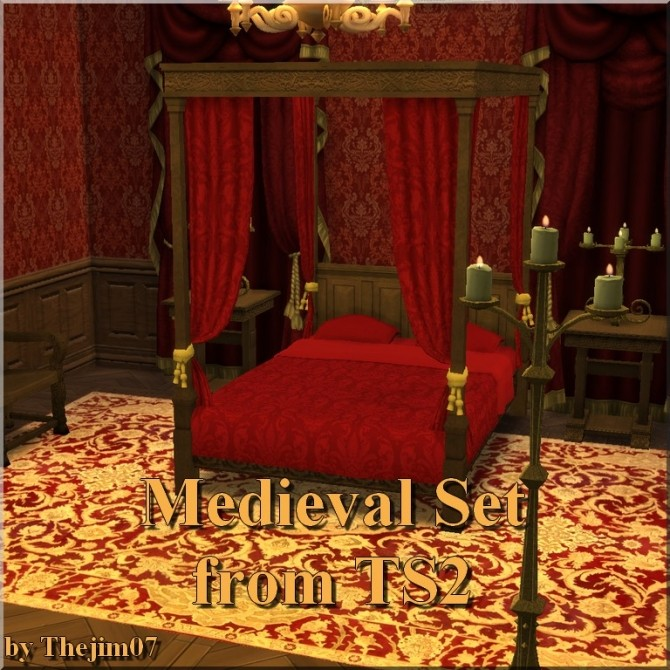 Medieval Set from TS2 by TheJim07 at Mod The Sims image 7212 670x670 Sims 4 Updates