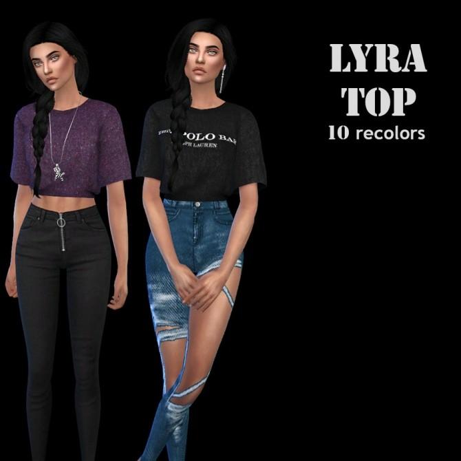 Sims 4 Lyra Top Rc at Leo Sims