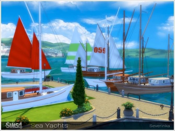 Sea Yachts by Severinka at TSR image 7217 670x503 Sims 4 Updates