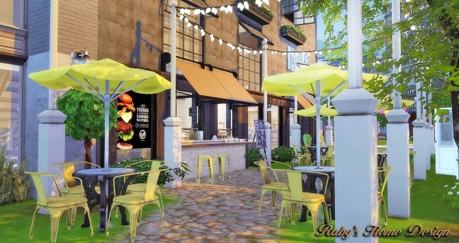 Waterside Street by Ruby Red at Ruby's Home Design image 7221 670x355 Sims 4 Updates