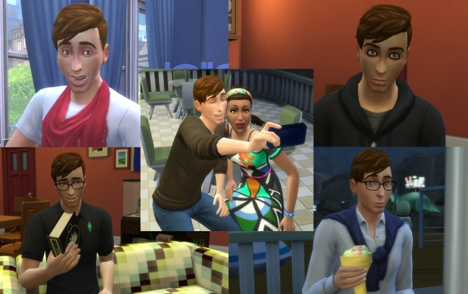 Sims 4 Thomas Sanders by harlequin eyes at Mod The Sims