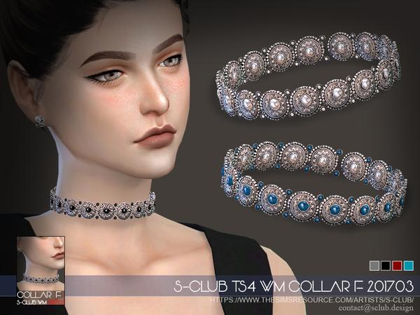 Sims 4 Collar F 201703 by S Club WM at TSR