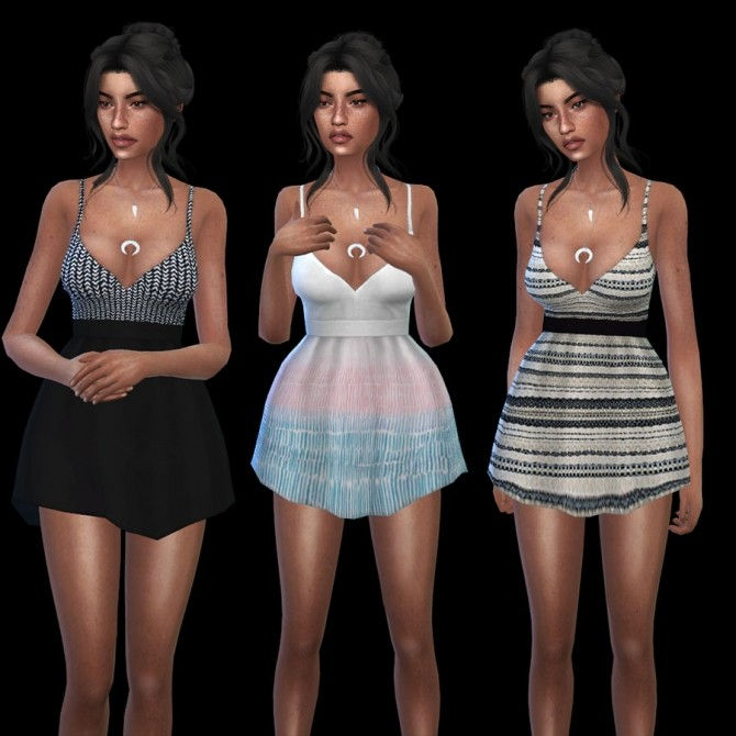 Shove Dress at Leo Sims image 7311 670x670 Sims 4 Updates