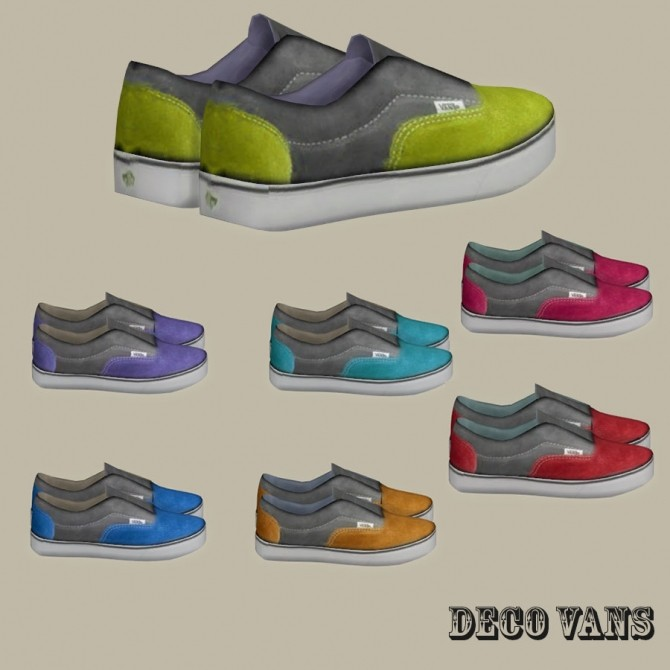 Sims 4 Deco shoes at Leo Sims