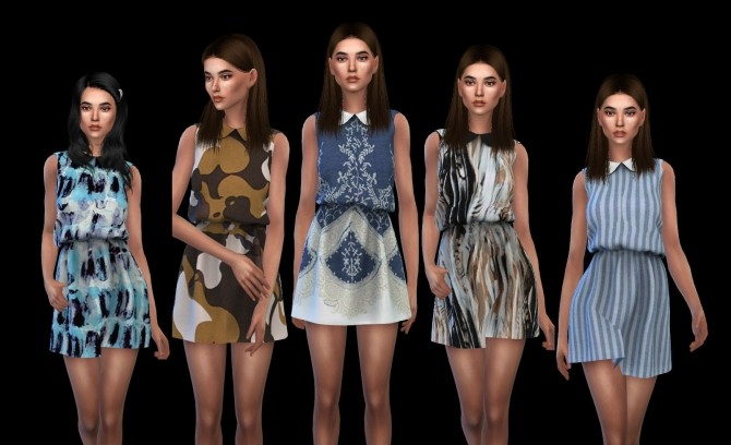 Elle Dress at Leo Sims image 751 670x408 Sims 4 Updates