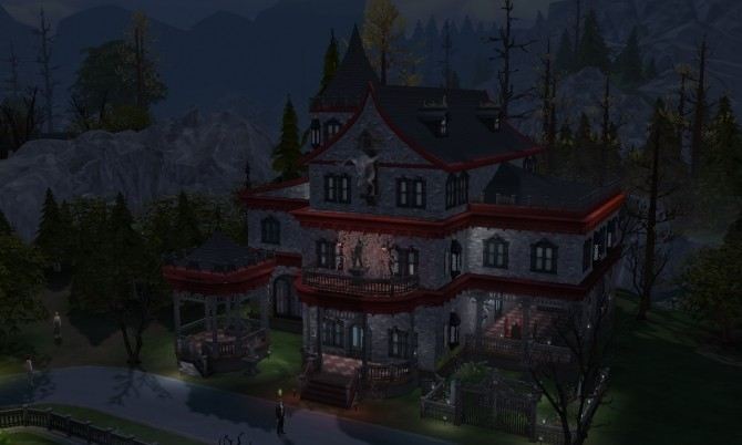 Vampire Mansion at Tatyana Name image 7613 670x402 Sims 4 Updates