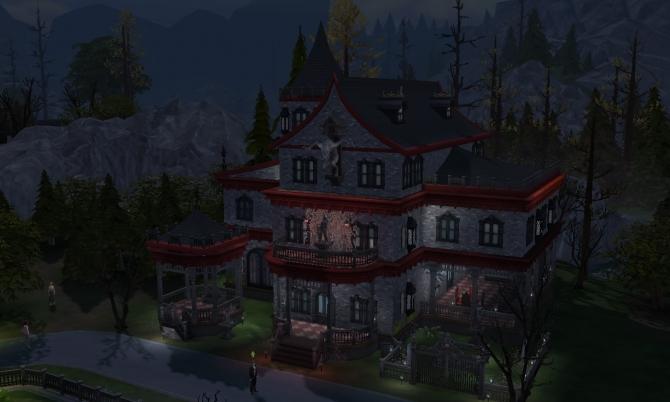 Vampire Mansion At Tatyana Name 187 Sims 4 Updates