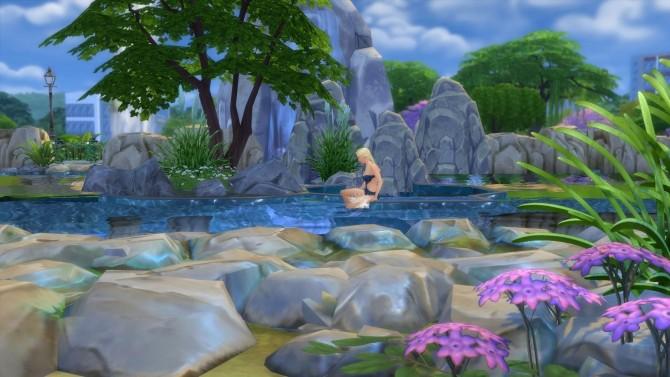 Mermaid mod sims 4