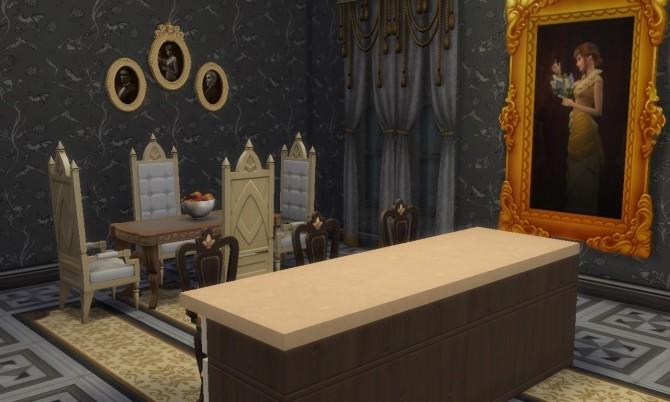 Sims 4 Vampire Mansion at Tatyana Name