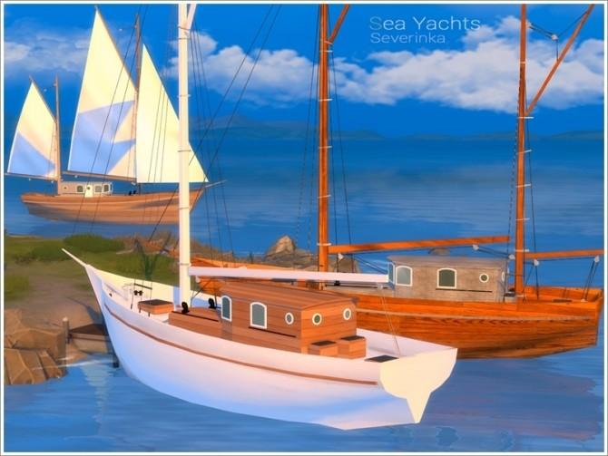 Sea Yachts by Severinka at TSR image 7915 670x503 Sims 4 Updates