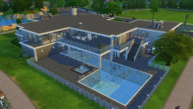 Modern Nights High End Modern Mansion By Analytic At Mod