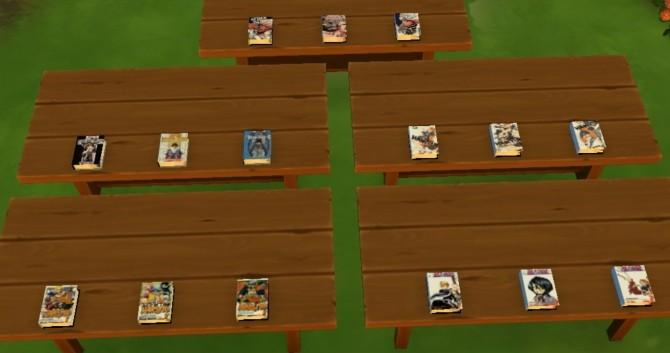 Miscellaneous Manga: Vol 1 3 Readable by KaraStars at Mod The Sims image 80 670x353 Sims 4 Updates