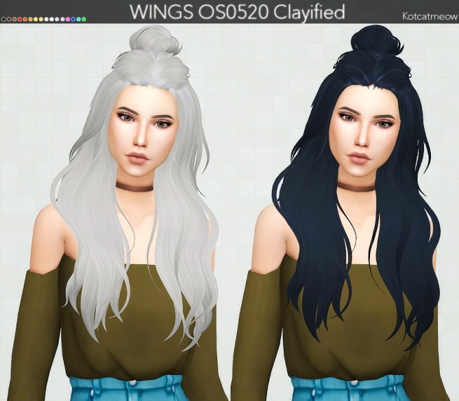 WINGS OS0520 Hair Clayified at KotCatMeow image 8012 670x586 Sims 4 Updates