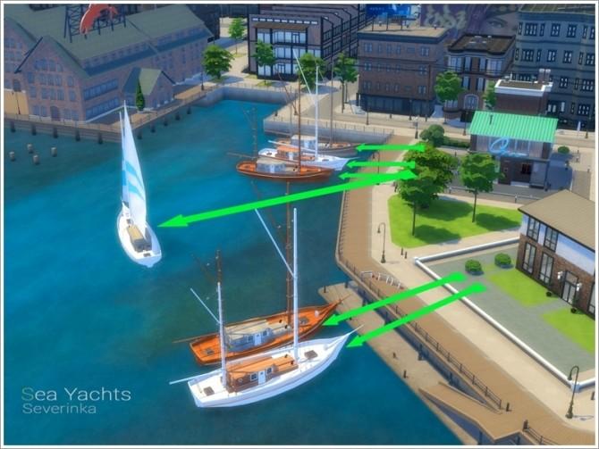 Sea Yachts by Severinka at TSR image 8015 670x503 Sims 4 Updates