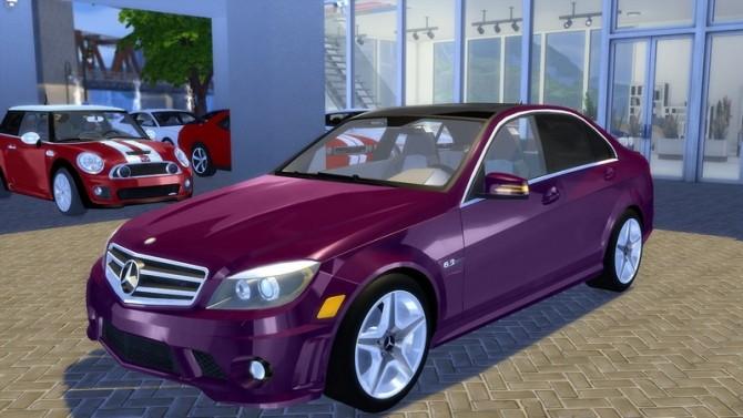 Mercedes Benz C63 AMG 2010 at OceanRAZR image 804 670x377 Sims 4 Updates