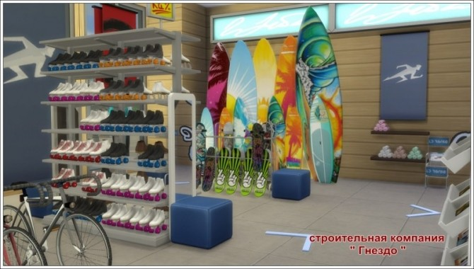 Sports Shop at Sims by Mulena image 809 670x380 Sims 4 Updates