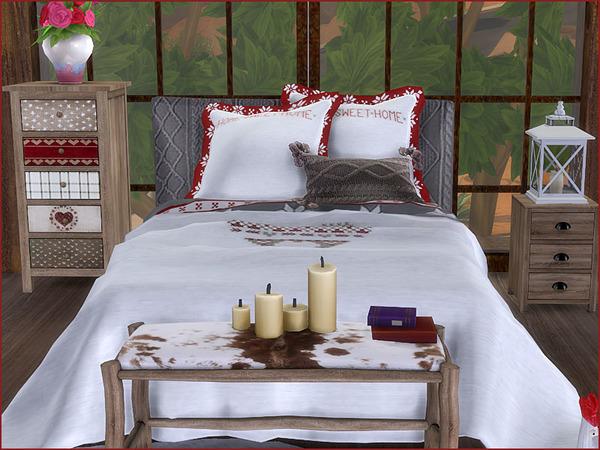 Heidi Bedroom by Pilar at TSR image 810 Sims 4 Updates