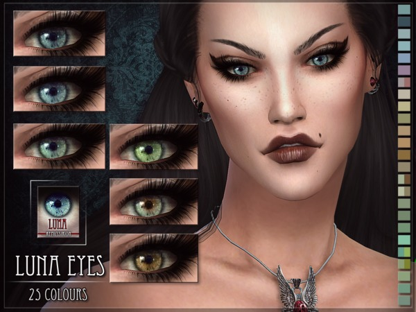 Luna Eyes by RemusSirion at TSR image 8100 Sims 4 Updates
