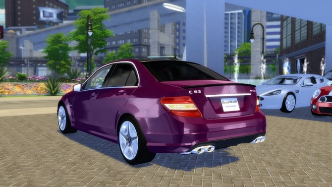 Mercedes Benz C63 AMG 2010 at OceanRAZR image 817 670x377 Sims 4 Updates